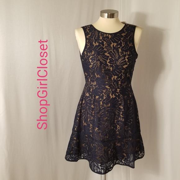 Banana Republic Dresses & Skirts - Banana Republic Blue Lace Dress..Sz 00P